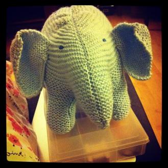 Baby Elephant Softie