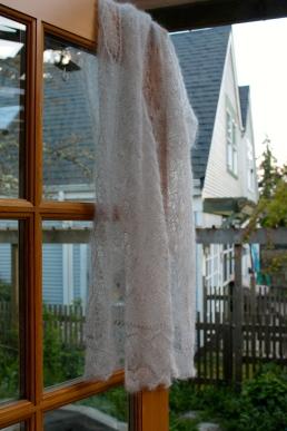 Angie's Wedding Shawl
