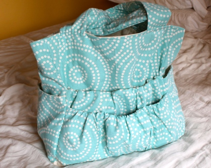 A crafting bag with tons of pockets