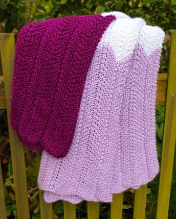 Purple Stripe Blanket
