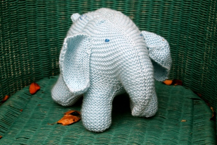 Another elephant softie (in better lighting)