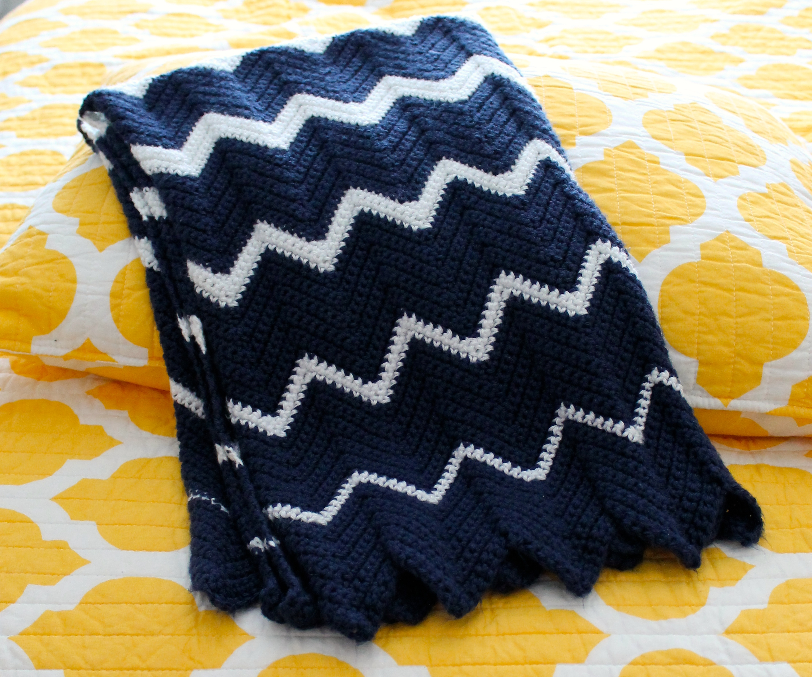 Accidentally Nautical Blanket | Measured and Slow