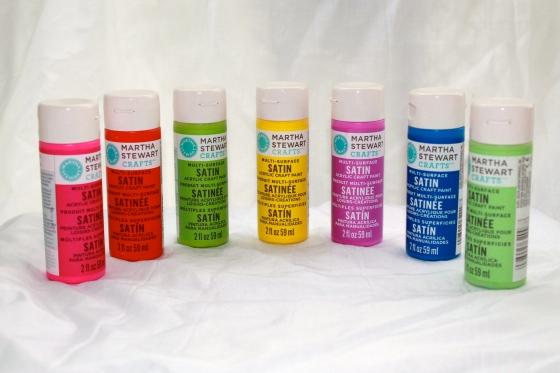 Martha Stewart satin craft paint